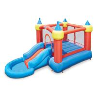 Inflatable Bounce Castle with Slide into Ball Pit