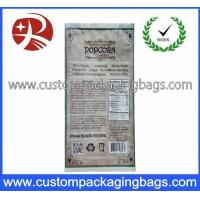 China Compound Popcorn Plastic Food Packaging Bags , Printed Packaging Bags wholesale
