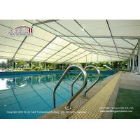 China Temporary Aluminum And PVC Structure Tent For Sports Court , Swimming Pool wholesale