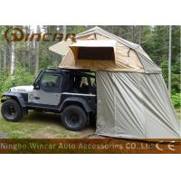 Buy cheap Truck Soft Car Top Tent Outdoor Waterproof 260g / 280g Canvas Material For Camping from wholesalers