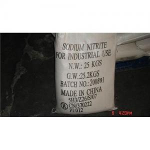 China Sodium nitrite 99 on sale