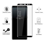 Black White Shatterproof Anti Explosion Screen ProtectorAsahi Glass Material
