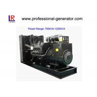 China Low Noise 50Hz/60Hz Diesel Powered Generator 900kVA/720kw Water Cooling wholesale