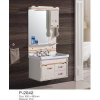 China Mirrored Bathroom Floor Cabinet Wall Storage One Embossed Board Door Elegant wholesale