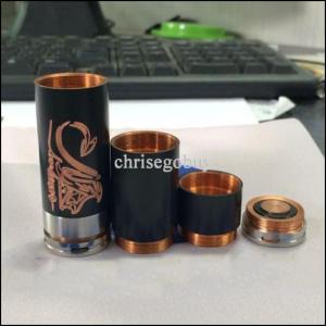 China Mechanical Black Copper Stingray E-Cigarette Mods Battery 26650 Tube Mod wholesale