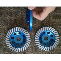 China 5inch 125mm Turbo Cup Wheel , 5 Diamond Grinding Disc For Concrete wholesale