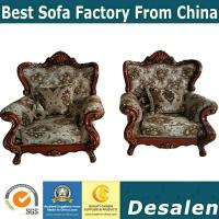 Quality 156 wooden carved Luxury home furniture Royal genuine leather sofa set. 1+2+3 for sale