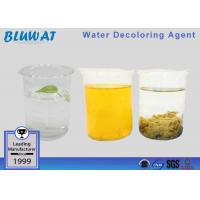 China Decolorizing Agent Water Treatment Color Removal Chemical COD Reduce wholesale