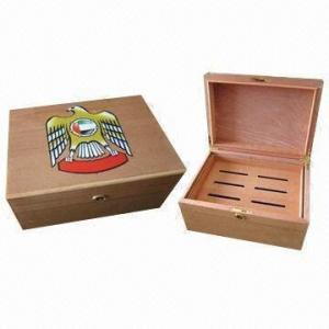 China Cigar Humidor/Box, Measures 351x252x168mm wholesale