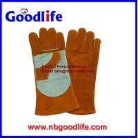 China leather welding gloves ,working gloves,industry gloves on sale