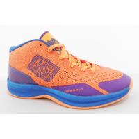 China Lightweight Mens High Top Basketball Shoes Spike Running Shoes PU + Mesh on sale
