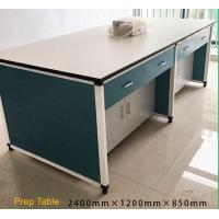 China Aluminium Alloy Wood Structure School Lab Furniture Cheap Prepartion Room Lab Bench Prep Laboratory Table with CE on sale