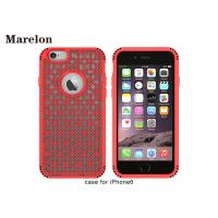 China Creative Grid Protective TPU Phone Case All Round Protection For Iphone 6 6s wholesale