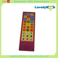 China 2016 30 Button Musical Sound Pad for Children Books on sale