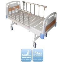 China Single Electric Nursing Bed Aluminium Side Rail Drainage Hook Cold Rolled Steel Plate Base Nursing Care Bed wholesale