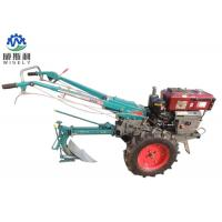 China Mini Hand Operated Walk Behind Tractor Ploughing Walking Tractor wholesale