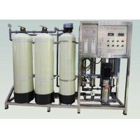 China Industrial Water Softener System 500LPH Ion Exchange For Boiler / Cooling Tower wholesale