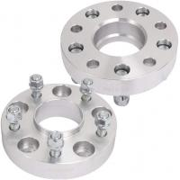 """China 1.25"""" 32mm Lip Wheel Hub Centric Spacers For Jeep Wrangler Rubicon 6061 T6 Material wholesale"""