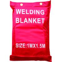 China Fiberglass Welding Blanket and cover , 0.8mm thickness fireproof welding blanket wholesale