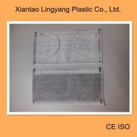 China Anti Virus Disposable Non Woven Face Mask , Activated Carbon Medical Mouth Mask Black wholesale