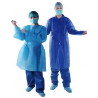 China Hospitals Medical  Non Woven Garments / Comfortable Non Woven Surgical Gown on sale