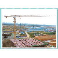 China Self Erecting Construction Tower Crane , Moldel ZT5610 Topless Tower Crane On Rails wholesale