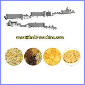 China corn flakes making machine, breakfast cornflakes production machine on sale