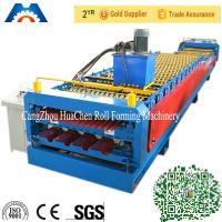 China IBR Sheet Corrugated Roll Forming Equipment Roller Forming Machine PLC Control wholesale