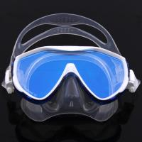 China Tempered No Fog Dive Mask with Silicone Skirt Soft Flexible Silicone Strap wholesale