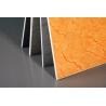 China Durable UV Coating Calcium Silicate Panels TV Background Imitation Granite Grain wholesale