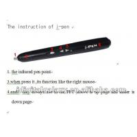 Buy cheap Interactive whiteboard of i-Interactor USB wireless digital infrared pen from wholesalers