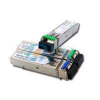 China BiDi SFP Fiber Optic Transceiver Package With LC / SC Connector wholesale