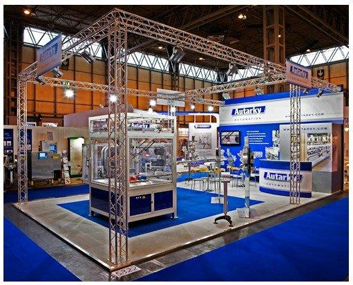 Exhibition Stand Used : Used light truss stand images