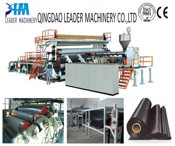 Quality HDPE geomembrane/waterproof sheet extrusion line for sale