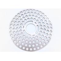 China 1*2m Metal Perforated Sheet , 3mm Perforated Stainless Steel Sheet Laser Cutting wholesale