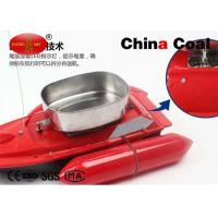 China Red Popular Remote Control Fishing Bait Boat Can Fish Automatically on sale