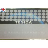 China 10Mm white color Bulk Hook And Loop Dots , hook and loop accessories Adhesive Backed die cut wholesale
