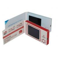 China 2.4 inch mini digital video brochure cards for new product lanuch on sale