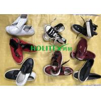 China Women Clean Used Canvas Shoes , First Grade Second Hand Clothes Shoes wholesale