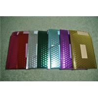 Recyclable Metallic Glamour Bubble Mailers , Durable Padded CD Mailers 175x165mm