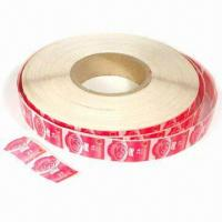 China Printing Labels/Stickers, Available in Various Shapes, Sizes and Designs wholesale