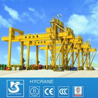 China Container Crane Heavy Duty Rail Mounted Gantry Cranes RMG Type on sale