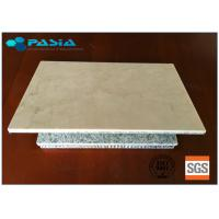 Buy cheap Natural Stone Backlit Super Thin Marble Stone Panel Reception Desk Bar Counter from wholesalers