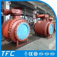 China trunnion mounted 3pc forged steel ball valve on sale