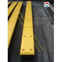 China High Strength Marine Dock Bumpers , D Bore Square Rubber Fender wholesale
