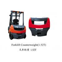 China china factory OEM high quality iron cast forklift counter weight for sale wholesale