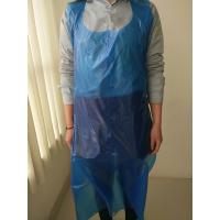 China Plastic Disposable Paint Aprons Smooth Surface Thickness 8 - 80mic on sale