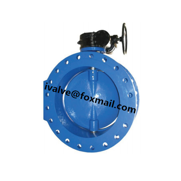 Quality DN1000 Double Eccentric Large Diameter Butterfly Valves for sale