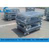 China Foldable Galvanized Wire Mesh Cages Powder Coated Finish Anti Corrosive wholesale