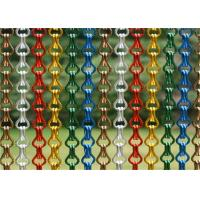China Metal Hook Link Hanging Screen Door Curtain Size Customized For Modern Decoration wholesale